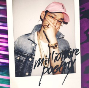 "Album art for The Quiett's album ""Millionaire Poetry"""