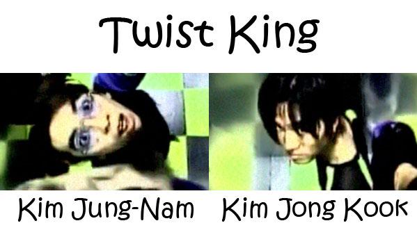 "The members of Turbo in the ""Twist King"" MV"
