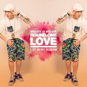 "Album art for WooSide's album ""Round One Love"""
