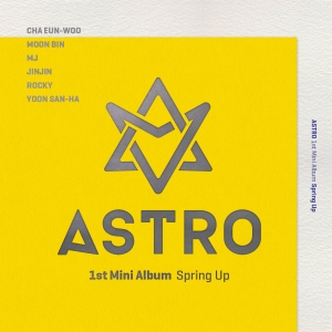 "Album art for Astro's album ""Spring Up"""