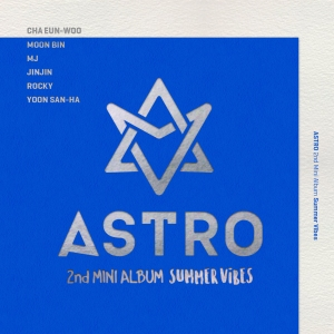 "Album art for Astro's album ""Summer Vibes"""