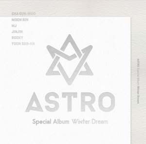 "Album art for Astro's album ""Winter Dream"""