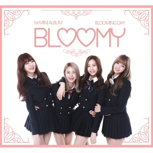 "Album art for Bloomy's album ""Blooming Day"""