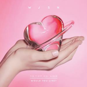 "Album art for Cosmic Girls [WJSN]'s album ""Would You Like"""