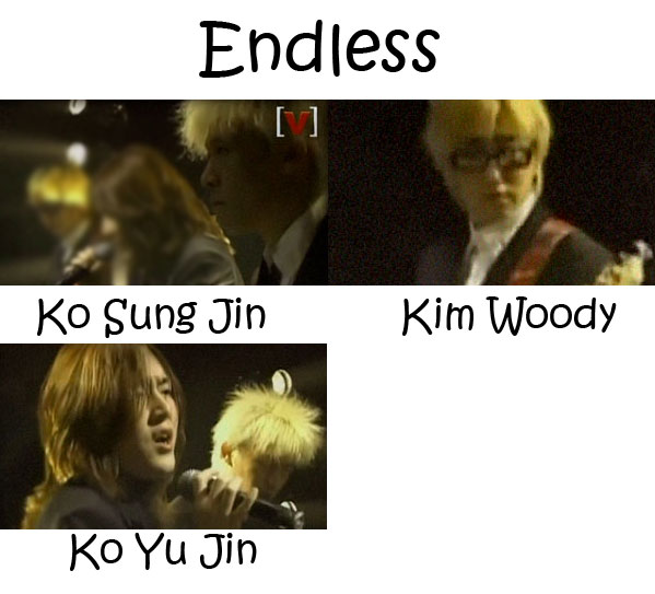 "The members of Flower in the ""Endless"" MV"