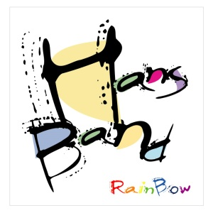 "Album art for Han's Band's album ""Rainbow"""