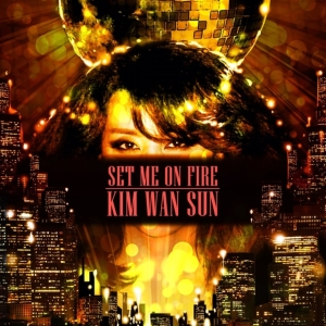 "album art for Kim Wan Sun's album ""Set Me On Fire"""