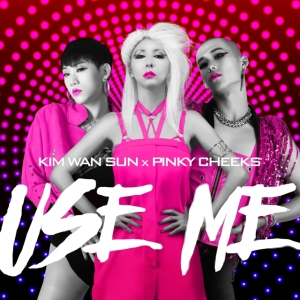"Album art for Kim Wan Sun's album ""Use Me"""