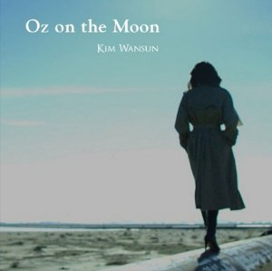 "Album art for Kim Wansun's album ""Oz On The Moon"""