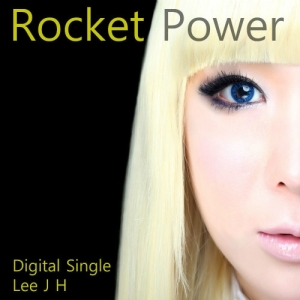 "Album art for Lee Ji Hye's album ""Rocket Power"""