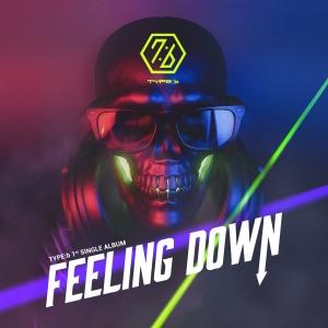 """Album art for Type:b's album """"Feeling Down"""""""