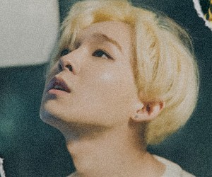 "Winner's Taehyun ""Exit"" promotional picture."