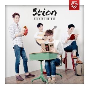 "Album art for 5tion's album ""Because Of You"""