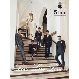 "Album art for 5tion's album ""Love Love Love"""