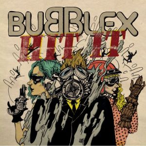 "Album art for Bubble X's album ""Hit It"""