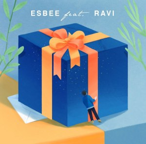 "Album art for ESBEE's album ""B-Day"""