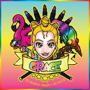 "Album art for Grace's album ""I'm Fine"""
