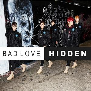 "Album art for Hidden's album ""Bad Love"""
