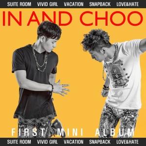 """Album art for In&Choo's album """"Vacation"""