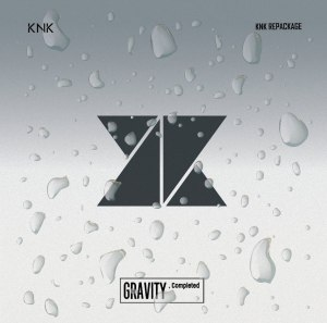 "Album art for KNK's album ""Gravity, Completed"""