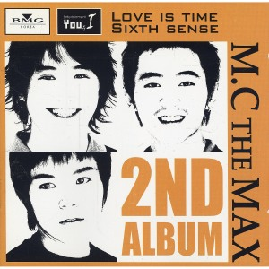 "Album art for M.C. The Max's album ""Love Is Time Sixth Sense"""