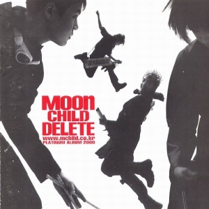 "Album art for Moon Child's album ""Delete"""