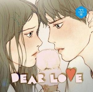 """Album art for OBROJECT's album """"Dear Love"""""""