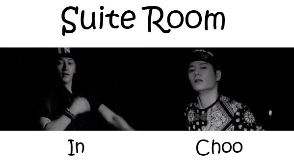 "The members of In&Choo in the ""Suite Room"" MV"