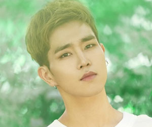 """Voisper's Kangsan promotional picture for """"Crush On You"""""""