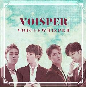 """Album art for Voisper's albumm """"Voice + Whisper"""""""