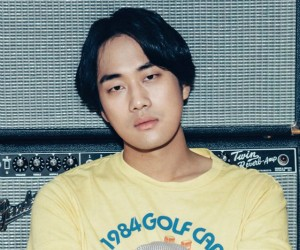 "Hyukoh's Lim Dong Gun ""22"" promotional picture."