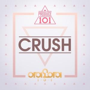 """Album art for I.O.I's album """"Crush"""""""