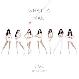 """Album art for I.O.I's album """"Whatta Man"""""""