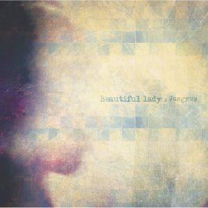 """Album art for Jung Yeob's album """"Beautiful Lady"""""""