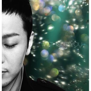 "Album art for Jung Yeob's album ""Love You / Without You"""