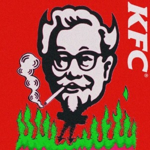 "Album art for Kidoh's album ""KFC"""