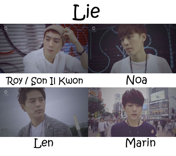"Album art for 5tion's album ""Lie"" MV"
