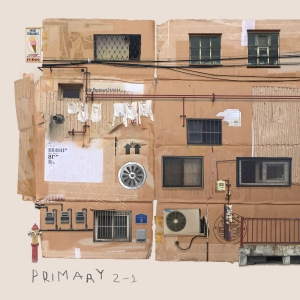 "Album art for Primary's album ""2-1"""
