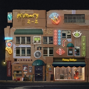 "Album art for Primary's album ""2-2"""