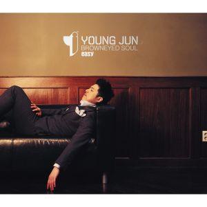 "Album art for Young Jun's album ""Easy"""