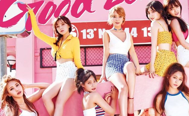 """AOA's """"Good Luck"""" promotional picture."""