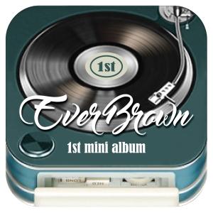 Album art for Everbrown's 1st Mini Album