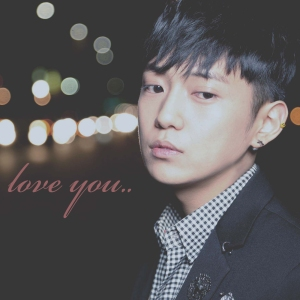 "Album art for Kim Woo Joo's album ""Love You EP"""