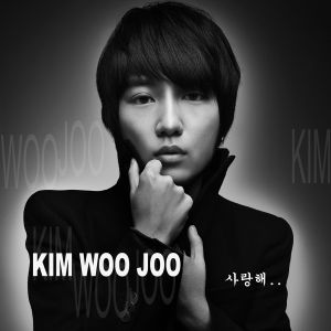"Album art for Kim Woo Joo's album ""Love You"""