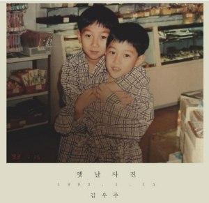 "Album art for Kim Woo Joo's album ""Old Photo"""