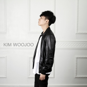 "Album art for Kim Woo Joo's album ""The First Time We Met"""