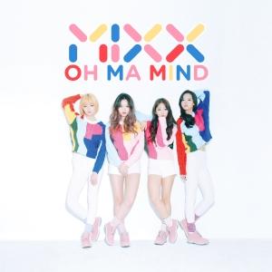 "Album art for MIXX''s album ""Oh Ma Mind"""