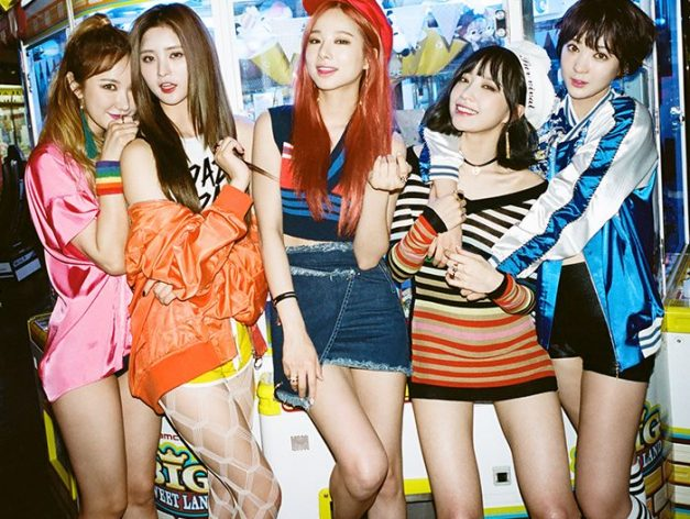 "EXID's ""Street"" promotional picture."