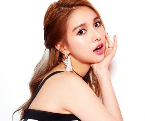 "Fiestar's Jaei ""Apple Pie"" promotional picture."
