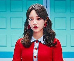 "Gugudan (Gx9)'s Sejeong promotional picture for ""Act 3 - Chococo Factory"""